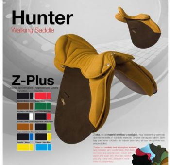 Zaldi Hunter endurance saddle